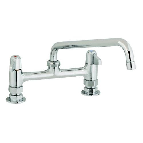 """8"""" Deck Mount Faucet - T & S"""