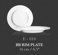 """B/B Rim plate 6.5"""" - KERAMIK"""