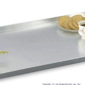Baking Tray Alum.600x400x20 Mm (1.6Mm) - King Metal