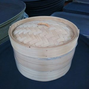 "BAMBOO STEAMER SETS  size :  10"" - JIAHE"