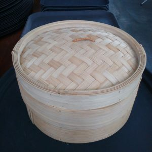 "BAMBOO STEAMER SETS  size :  12"" - JIAHE"
