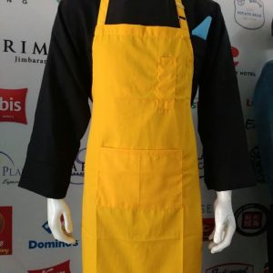 BIP APRON COTTON MIX YELLOW 2 - HC