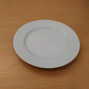 "CAKE PLATE PLAIN 7"" (CERAMIC) - KOPIN"