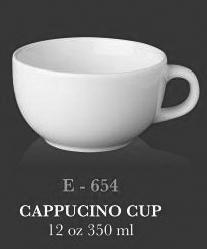Cappucinno Cup 12oz - KERAMIK