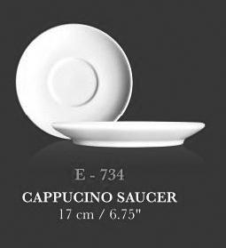 Cappucino saucer 17cm - KERAMIK