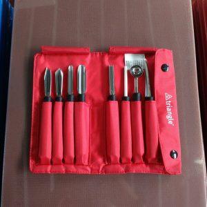 Carving Tools Set 8 pcs - TRIANGLE