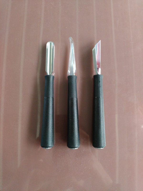 Carving Tools Set Basic 3 pcs - TRIANGLE