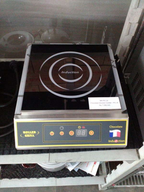 Chocolate Induction Cooker - PIC 25 - ROLLER GRILL