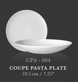 "Coupe Pasta Plate 7.25"" - KERAMIK"