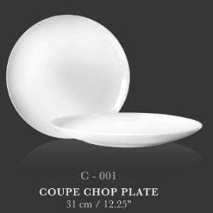 "Coupe plate 12.25"" - KERAMIK"