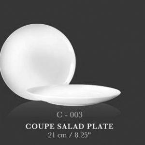 "Coupe plate 8.25"" - KERAMIK"