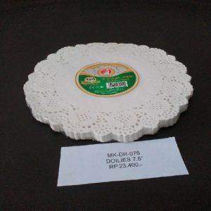DOILIES PAPER 7.5 - DISPOSABLE