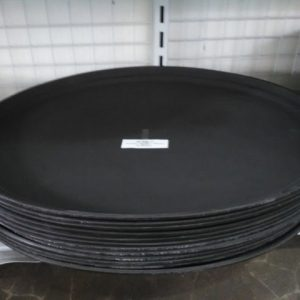 FIBERGLASS NON SLIP TRAY 560X685MM .BLACK - JW