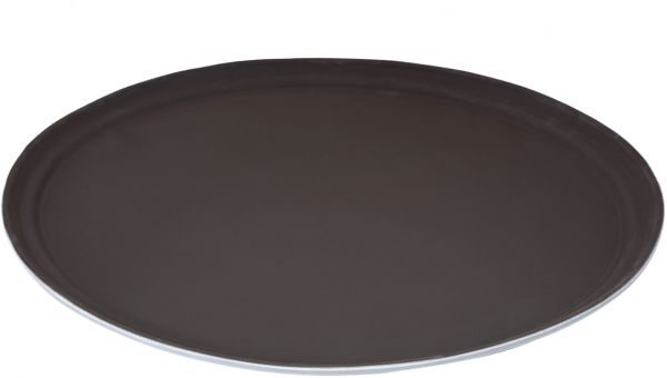 FIBERGLASS NON SLIP TRAY 735X600MM BROWN - JW