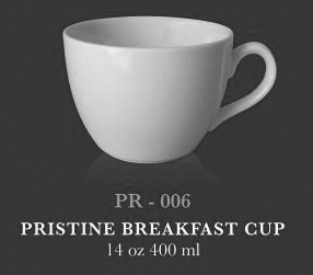 Pristine breakfast cup 14oz 400ml - KERAMIK