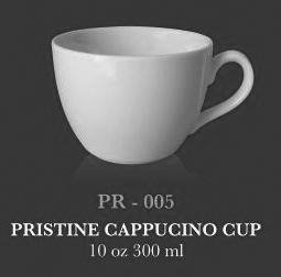 Pristine capucino cup 10 oz 300 ml - KERAMIK