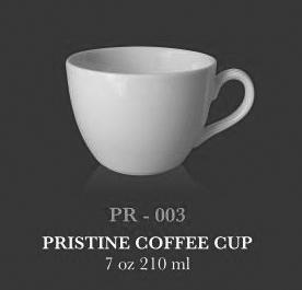 Pristine Coffee cup 7oz 210 ml - KERAMIK