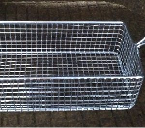 Rectangular Basket 22 X 10 X 6 Cm - King Metal