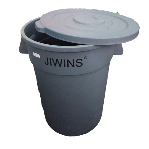 MK-CRC170E : Recycle Round Container Jiwins 166.5 Ltr + Lid - JW