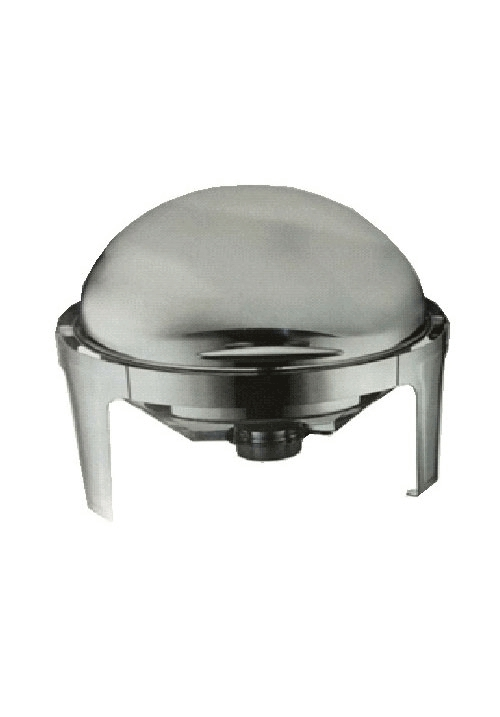 ROUND ROLL TOP CHAFING DISH 6L/ 470MM X 510MM 450MM - CHAFING DISH