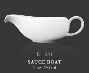 Sauce boat 7oz (B) - KERAMIK