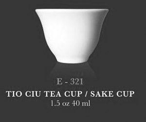 SM Chinese tea cup 1.4oz - KERAMIK