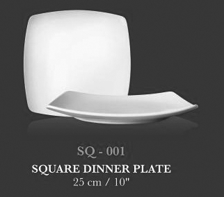"SQ coup plt 10"" (SQ Dinner Plate) - KERAMIK"