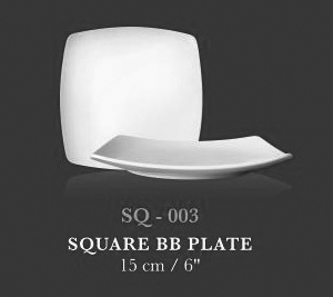 "SQ coup plt 6"" (SQ BB plate 6"") - KERAMIK"