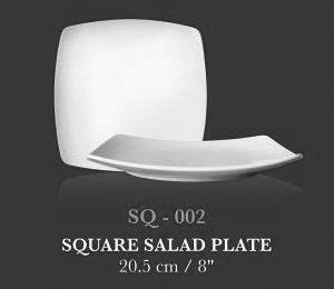 "SQ coup plt 8"" (SQ Salad Plate) - KERAMIK"