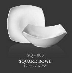 """SQ coupe bowl  deep 6.75"""" (SQ bowl 6.75"""") - KERAMIK"""