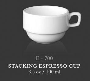 Stacking Espresso Cup 3.5oz - KERAMIK