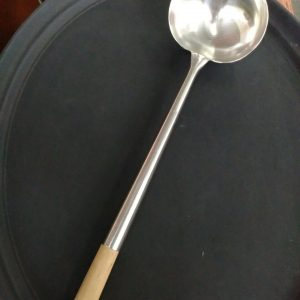 STAINLESS STEEL LADLE  size :  diameter 14 cm - JIAHE