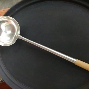STAINLESS STEEL LADLE  size :  diameter 15 cm - JIAHE