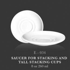 "Std Saucer  6"" (for Stc & Tall stc cup) - KERAMIK"