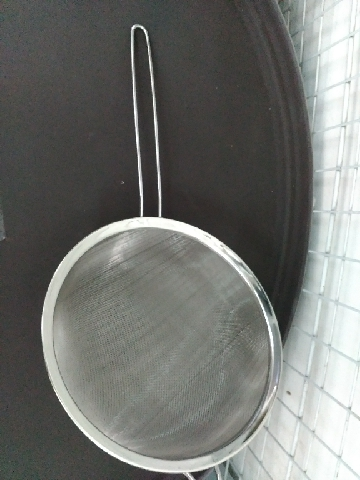 "Strainers Round Shape 9. 1/2"" (24cm) - INDIA"