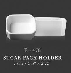 Sugar pack holder - KERAMIK