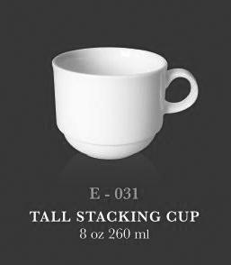 Tall Stacking Cup 8oz / 260 ml - KERAMIK