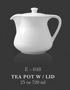 Teapot with lid 25oz - KERAMIK