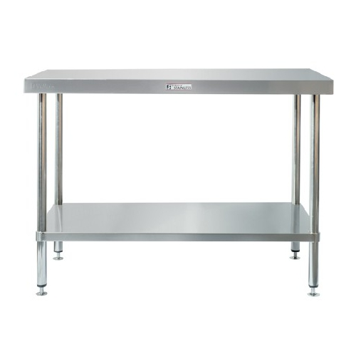 Work Bench With Splash Back - SIMPLY STAINLESS