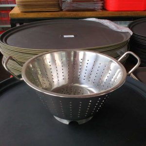 Colander (European) Dia 28 Cm.(Heavy) - King Metal