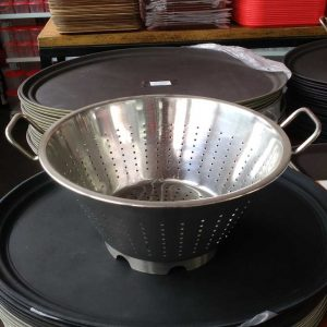 Colander (European) Dia 36 Cm.(Heavy) - King Metal