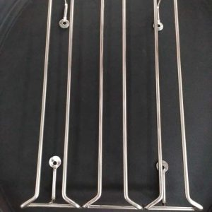 Glass Hanger Wire Made - Three Row - King Metal