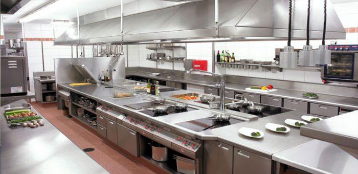 Peralatan Dapur di Hotel