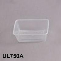 UL-750A : Rectangular Container 171 x 122 x 59 870ml  transparan - UL