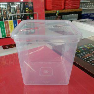 UL-SQ4000 : Rectangular Container Transparent 180 x 180 x 177 3850ml  transparan - UL