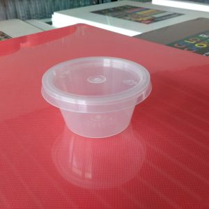 UL-TP200 : Round Container 62 x 31 50ml  transparan - UL