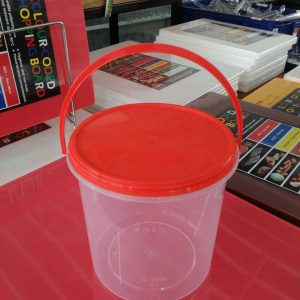 UL-SL2000B-FPT : Round Container with safety lock 152 x 140 2000ml  transparan - UL